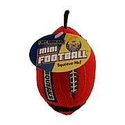 כדור פוטבול קטן לכלב Tuff Squeaks Mini Football